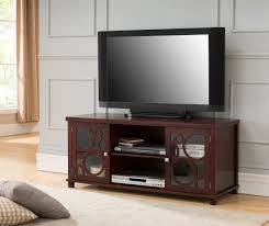glass cabinet doors for entertainment center 48 cherry wood entertainment center tv console stand with glass
