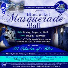 Blue Shades Bluejacket Masquerade Ball 20 Shades Of Blue Tickets Fri Aug 4
