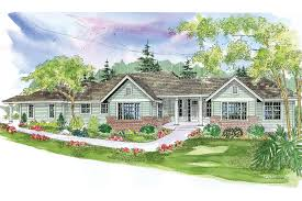 One Story Ranch House Plans by Ranch House Plans Parkdale 30 684 Associated Designs
