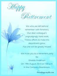 retirement party invitation wording retirement invitation template retirement party invitation wording