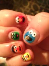 elmo toes sesame street nail art nail art pinterest elmo
