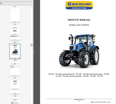 new holland t6 series tractors service manual pdf repair manual