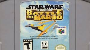 classic game room star wars episode 1 battle for naboo review