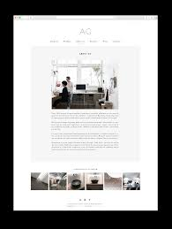 mery garriga website and logo for interior designer