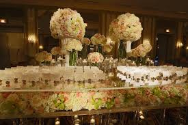 Candle Lighting Chicago Wedding At Hilton Chicago Wedding Flowers And Decorations