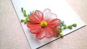 tutorial quilling flower card designs quilling flowers tutorial and quilling designs for