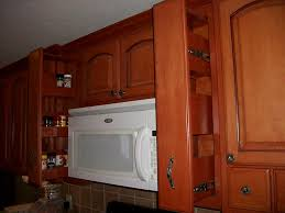 Pull Out Spice Rack Cabinet by Kitchen Outstanding Ideas For Kitchen Decoration Using White Wood