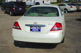 2004 infiniti m45 white sport sedan used car sale