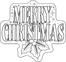 merry christmas clipart christmas coloring pencil