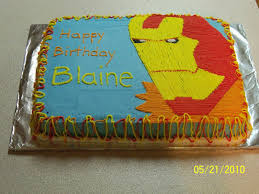 crafty mom of 4 boys iron man cake