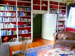 Mcgraw Bookshelf Beautiful Library Antebellum Home With A Beautiful Library