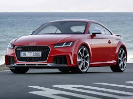 audi sports car audi tt rs unleashed with 400 horsepower business insider