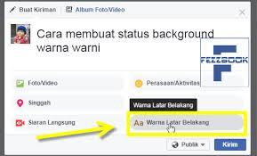 rumus membuat latar belakang cara membuat status facebook dg 7 background warna keren