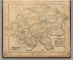 Map Of Virginia And West Virginia by Grant Magisterial District Monongalia County West Virginia