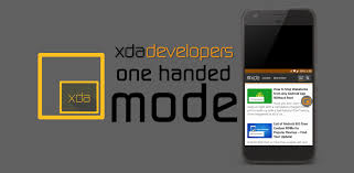 android ad blocker xda get ios reachability on any android phone with one handed mode by xda