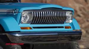 chief jeep color jeep chief concept vehicle from easter jeep safari youtube