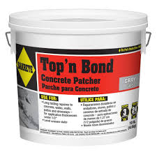 Flo Coat Concrete Resurfacer by Sakrete 10 Lb Top U0027n Bond Concrete Patcher 65455001 The Home Depot