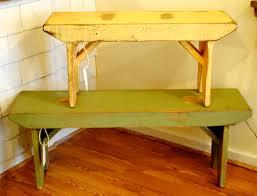 schoolhouse benches empty spaces design
