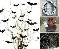 Bat For Halloween Easy Halloween Decorations