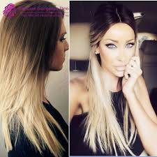 medium length hairstyles with color ombre hair color dark blonde women medium haircut