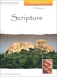scripture character writing worksheets d u0027nealian beginning cursive