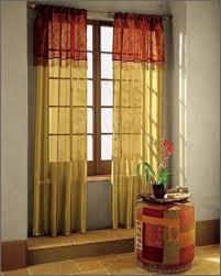 Sheer Curtains Orange Sheer Curtain Ideas For Living Room Ultimate Home Ideas