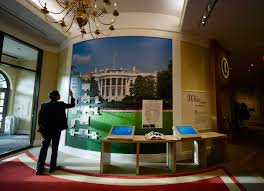 The Inside Of The White House George W Bush Presidential Library
