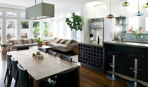 kitchen island with wine storage kitchen modern open plan kitchen renovation with wine storage