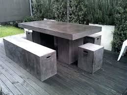 Concrete Patio Tables And Benches Cement Garden Table And Benches Cement Garden Table And Benches