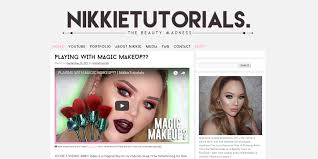 makeup artists websites 11 amazing beauty blogs made with themes