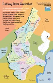 Map Of Rivers Rahway River Watershed Association
