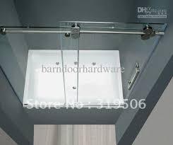 Shower Doors Prices Frameless Sliding Glass Shower Door Set 304 Stainless Steel