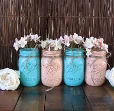 Mason Jar Vases Wedding 75 Best Mason Jars Painted Images On Pinterest Pint Mason Jars
