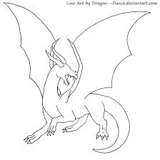 free blank dragon base dansudragon deviantart