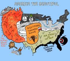 Made In America Map by America U0027s Beautiful Weather Zones U2013 The Nib U2013 Medium