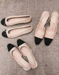 Comfortable Black Ballet Flats The Classic Chanel Piece That U0027s Becoming A Modern Must Have Shoe