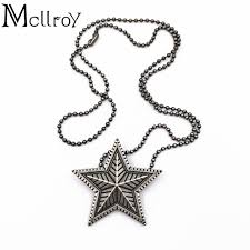 ring pendants necklace images Mcllroy star couple pendants necklace and ring sweater titanium jpg