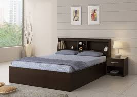 bed and side table set spacewood engineered wood bed side table price in india buy