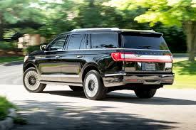 lincoln minivan 2018 navigator extended length lincoln black label destination