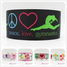 ribbon for hair that says gymnastics buy hair gymnastics and get free shipping on aliexpress com