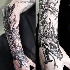 the 25 best dragon tattoo arm ideas on pinterest dragon tattoo