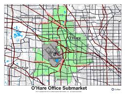 Ohare Airport Map 8700 W Bryn Mawr Ave Chicago Il 60631 Property For Sale On
