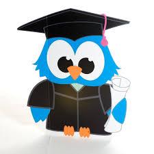 graduation owl blue graduation owl prop kit s