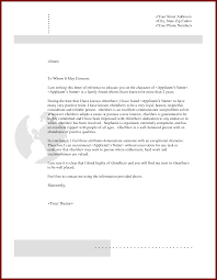 sample letter of character reference letter idea 2018