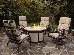 Hampton Bay Outdoor Fireplace - amazing of fire pit conversation set hampton bay cavasso 5 piece