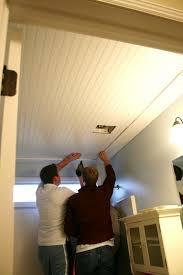 ceiling u0026 fan lowes beadboard ceiling beadboard ceiling diy