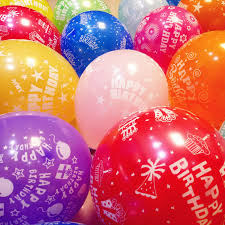 helium birthday balloons 100pcs lot happy birthday balloons 12 inch helium