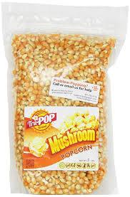 amazon com mushroom popcorn kernels 2 lbs just poppin brand