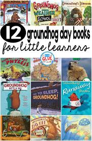 12 groundhog day books for little learners a dab of glue will do