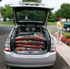 toyota prius luggage capacity hybrid car more with less gas archive gardening with
